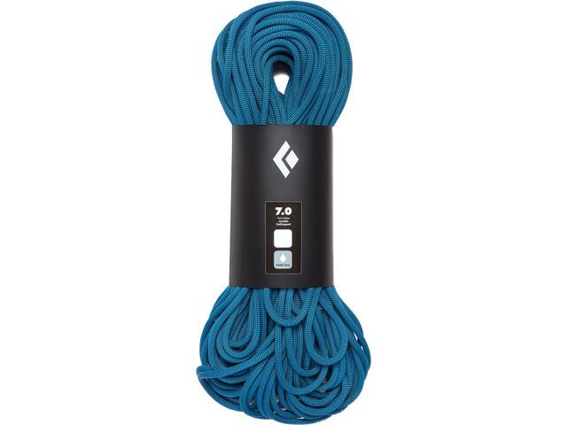 Black Diamond 7.0 Dry Cuerda 60m, aqua blue
